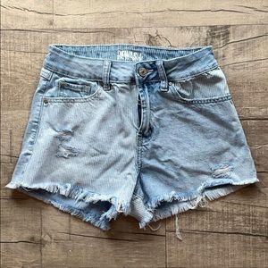 Rewash jean shorts size 26